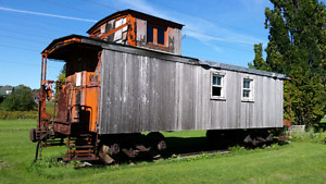 Business opportunity caboose tiny house