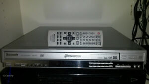 Panasonic 5 DVD CD player works perfectly
