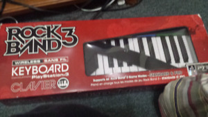 Rock Band 3 Keyboard (WIRELESS / PS3)