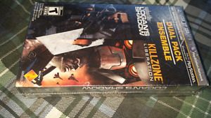 BRAND NEW SEALED PSP LOGAN'S SHADOW & KILL ZONE LIBERATION
