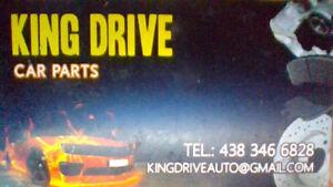 KING DRIVE pièces auto et camion tout genre