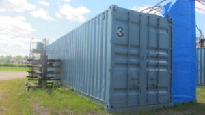 TWO 40' CONTAINERS