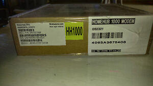 Bell home hub 1000 modem new in box and home phone battery pack