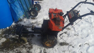 home made gas powered trailer mover works good