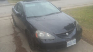 2002 Acura Rsx 5 speed manual.