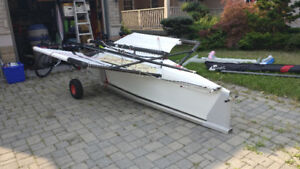 International Moth dinghy sailboat (Fastacraft Prowler Mk IV)