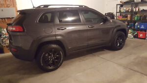 2017 Jeep Cherokee Trail hawk SUV, Crossover