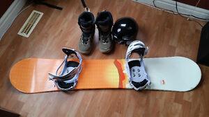 Snowboard Bundle Edmonton Edmonton Area image 1