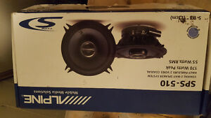 Alpine sps 510 two way car speakers