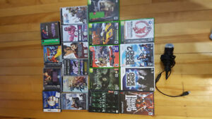 Various PSP, PS1, gamecube, wii and DS games