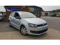 2010 Volkswagen Polo 1.2 ( 60ps ) S MANUAL PETROL FULL SERVICE HISTORY 2 KEYS