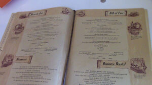 Beaver Club Menu, French and English, Montreal Kitchener / Waterloo Kitchener Area image 5
