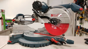 "12"" Bosch Dual Bevel Sliding Mitre Saw"