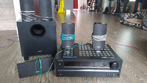 Great condition- Onkyo Home Theater (surround Sound & 130W Sub)