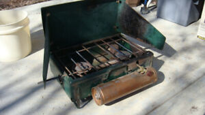 Made in Canada Coleman Camp Stove  -  1960's