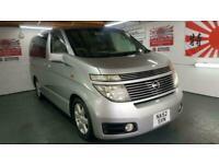 Nissan Elgrand 3.5 automatic 8 seater silver mpv corrosion free jap import 2003