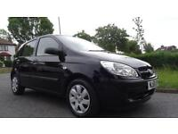 HYUNDAI GETZ GSI - 12 months MOT - 2008 Manual 48623 Petrol Black Petrol Manual
