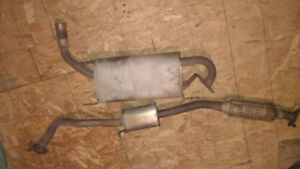 99-05 Miata MX5 Exhaust (cat, resonator, muffler)
