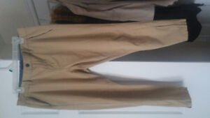 NUDE/BEIGE LOOSE FIT TROUSERS FROM POLO SIZE 10 - Brand New!!!