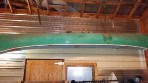 16ft fiberglass canoe