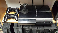 Playstation 3 with Numerous Games and 2 Controllers
