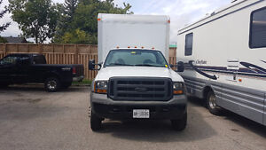 16' Cube truck for sale