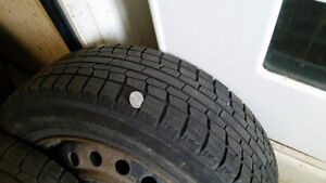 Tires on rims bolt pattern is :5*100