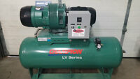 BRAND NEW Champion 10HP 575V Tank Mounted Vane Air Compressor
