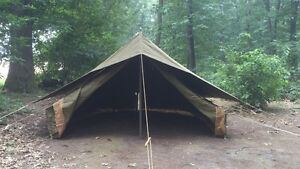 WWII British Army airborne  60LBS style tent