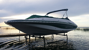 CUSTOM CANTILEVER PONTOON, BOAT AND WAKEBOARD BOAT LIFTS Prince George British Columbia image 1