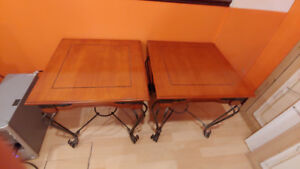 3 Tables de Salon