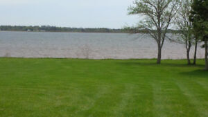 1 acre water view lot