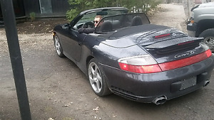 Porsche carrera 4s cabriolet convertible all wheel drive