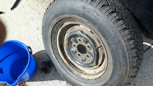 2 Great winter express tires with rims