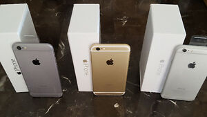 Iphone 6 & 6S 128GB 64GB 16GB unlocked new cond. in box warranty