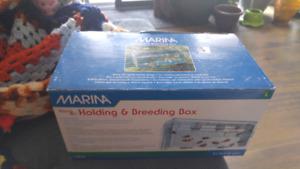 Holding and breeding box