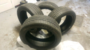 GOODYEAR Eagle RS-A 2 et CONTINENTAL ContiProContact 245-45-19