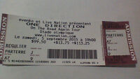 ONE DIRECTION SHOW IN MONTREAL
