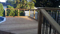 decks, fences, roofing and more