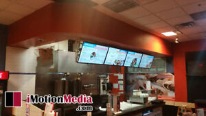 Digital Menu Boards,Signage,POS and Whiteboards iMotionMedia.com