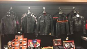BLOW OUT SALE on All Ladies and Mens Leather Jackets!
