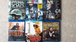 excellent BlueRays (6)...new or watched once