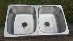 kindred double sink - new