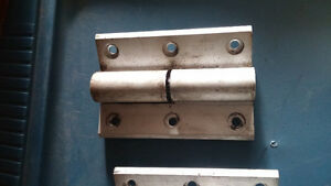 Commercial grade hinges