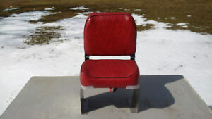 Boat Seat - Folds - Swivels - with Base