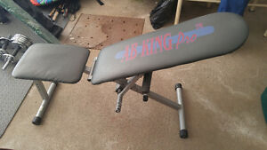 Weight Bench For Sale - Ab King Pro