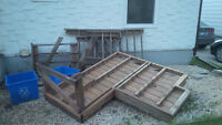Stairs and deck materials
