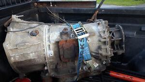 2004 GMC Sierra transmission