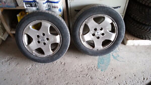 205/60/16 tire and rim