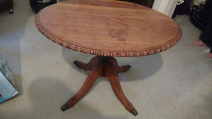 Antique Clawfoot Side Table